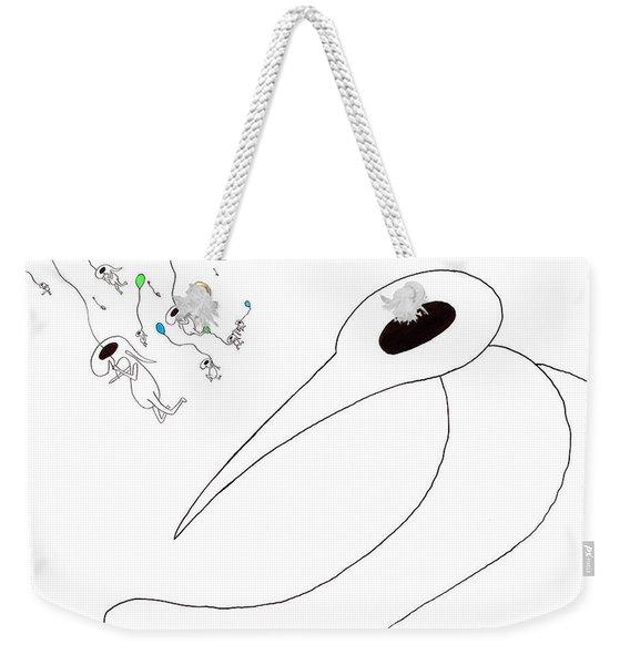 11 Winkles Weekender Tote Bag