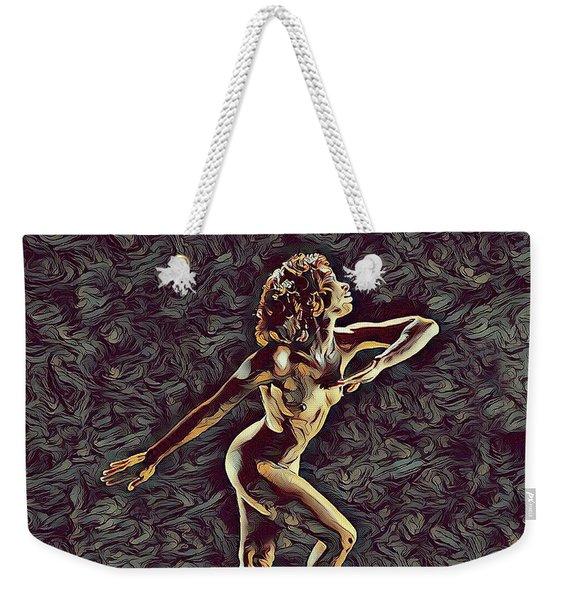 1192s-zac Nudes In The Style Of Antonio Bravo  Weekender Tote Bag