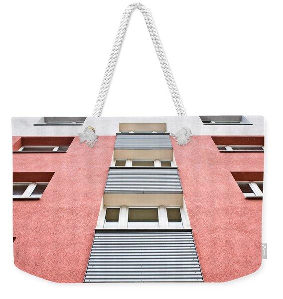 Apartment Building Weekender Tote Bag