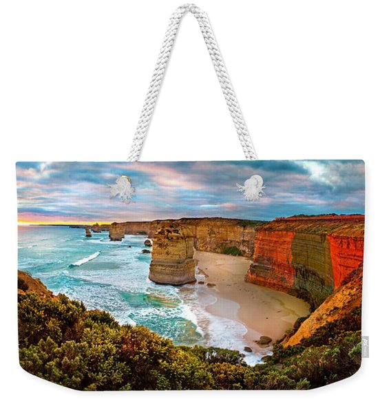 12 Apostle Sunset Weekender Tote Bag