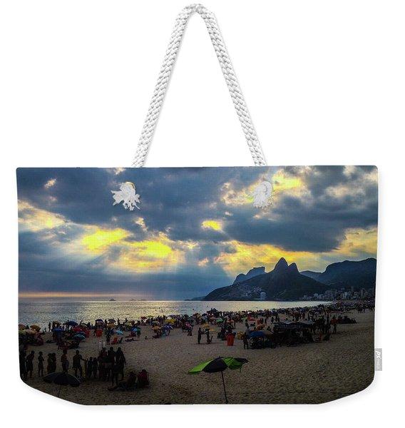 Ipanema Beach Weekender Tote Bag