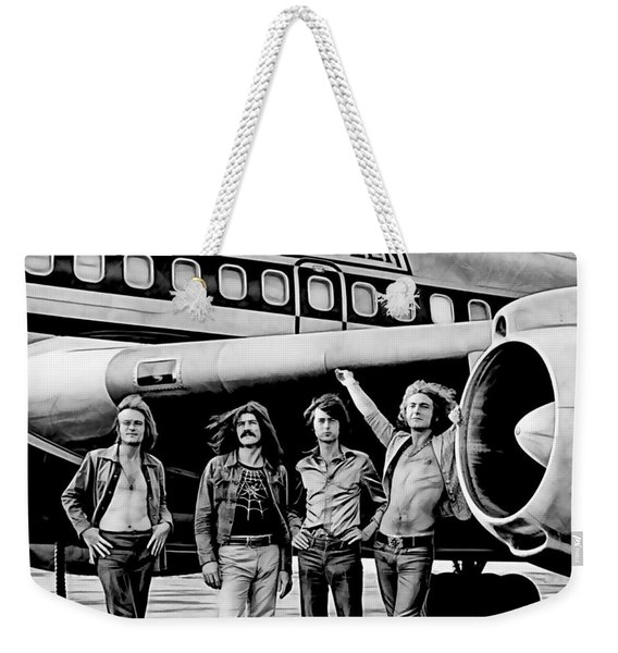 Led Zeppelin Collection Weekender Tote Bag