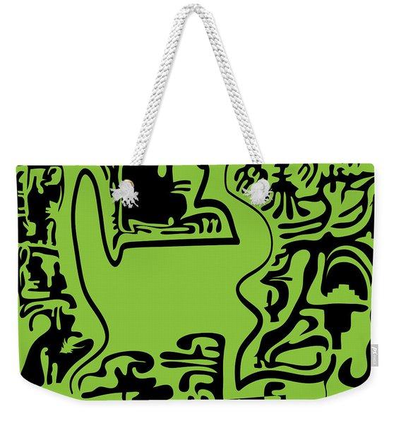 12 Lines Weekender Tote Bag