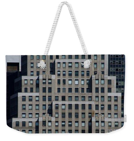 120 Wall Street Nyc Weekender Tote Bag