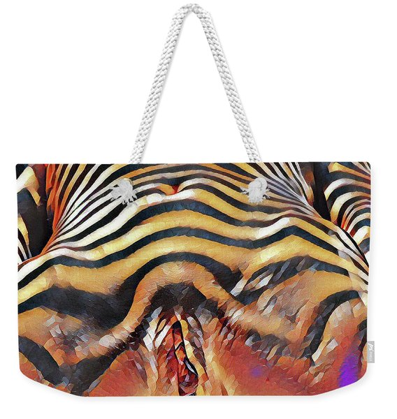 1290s-ak Intimate Vulval Portrait Rendered In The Style Of Francis Picabia  Weekender Tote Bag