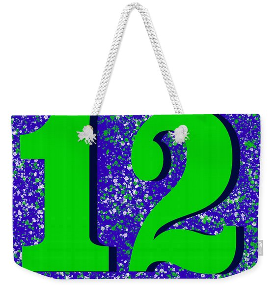 12th Man Weekender Tote Bag