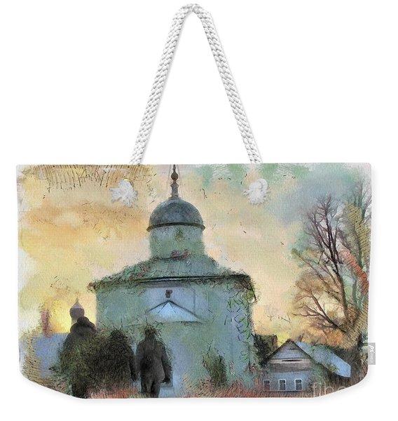 Churches Russia Weekender Tote Bag