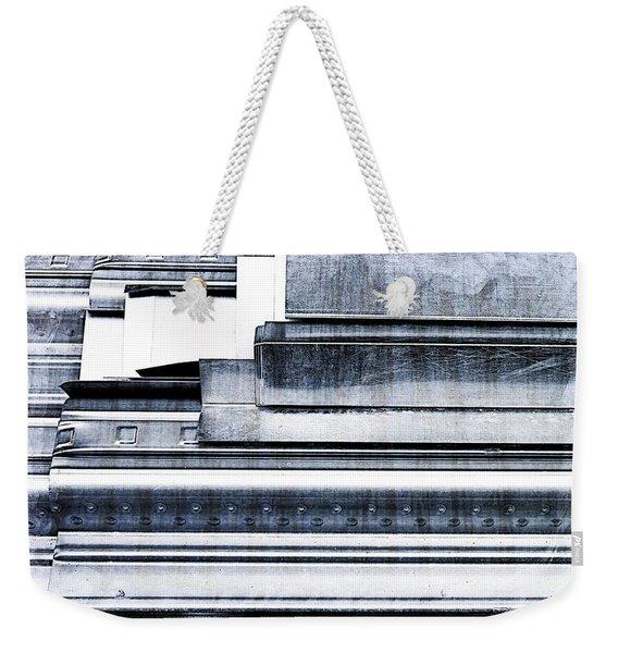 Metal Bars Weekender Tote Bag