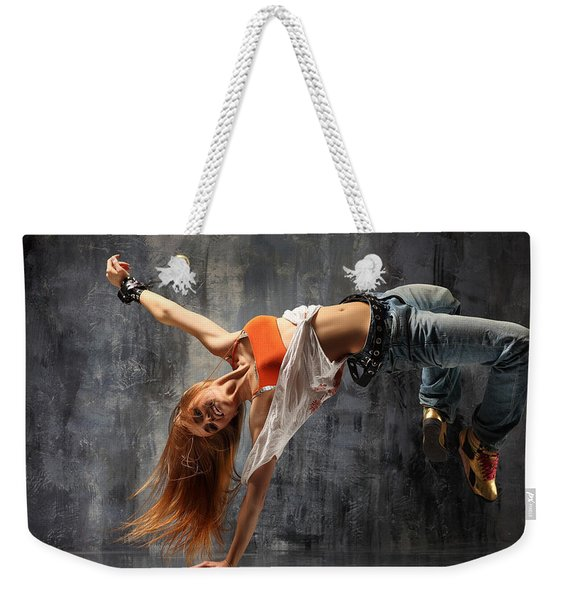 13728 1 Other S Dancing Weekender Tote Bag