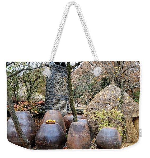 13th Century Kitchen Weekender Tote Bag