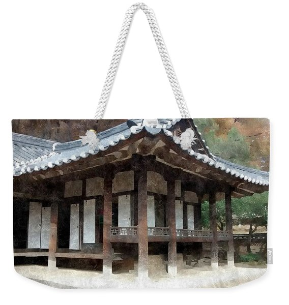 13th Century Korean Home Weekender Tote Bag