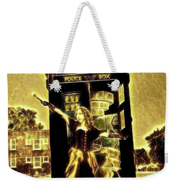 13th Doctor Weekender Tote Bag