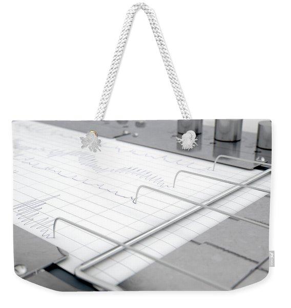 Polygraph Lie Detector Machine Weekender Tote Bag