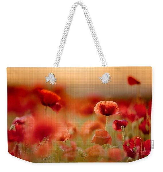 Poppy Dream Weekender Tote Bag