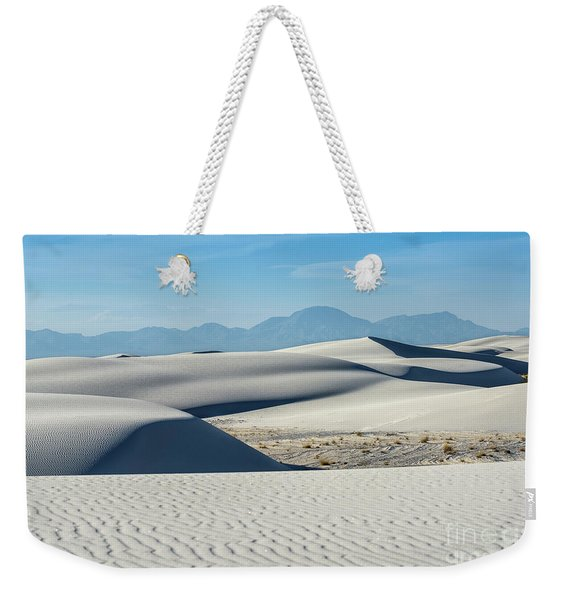 The Unique And Beautiful White Sands National Monument In New Mexico. Weekender Tote Bag