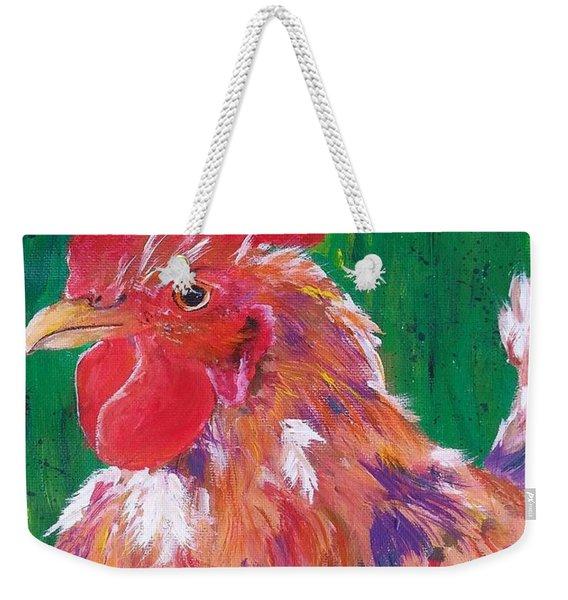 #14 Trouble Two Weekender Tote Bag