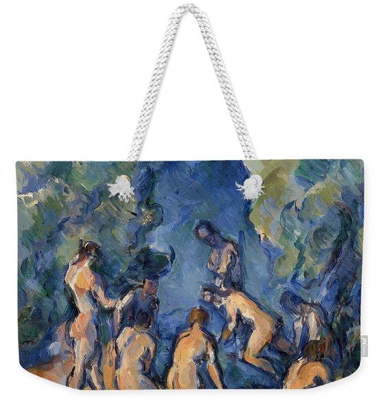 Bathers Weekender Tote Bag