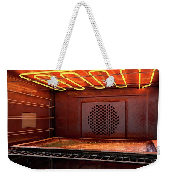 Inside The Oven Weekender Tote Bag