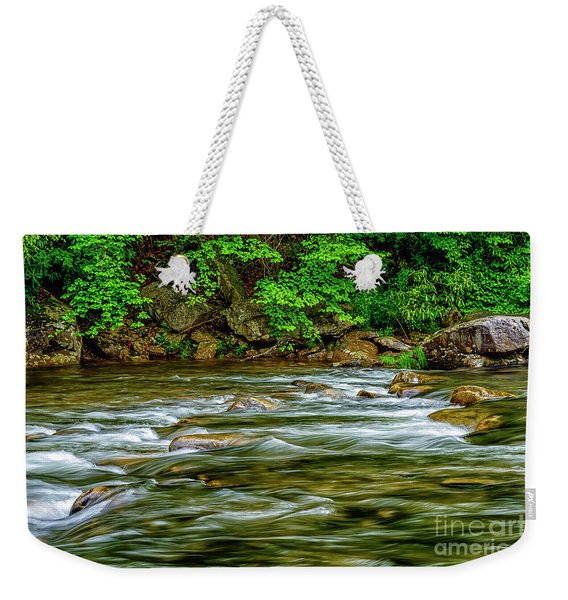 Williams River Spring Weekender Tote Bag
