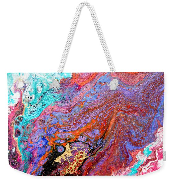 #1639 Burning Desire Weekender Tote Bag