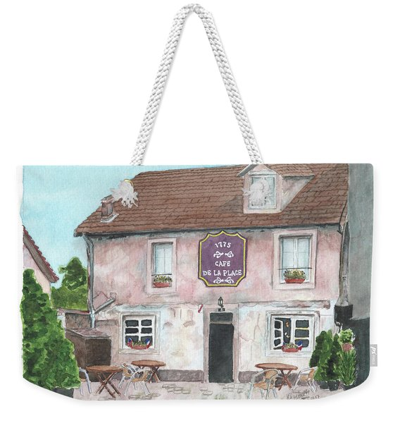 1775 Cafe De La Place Weekender Tote Bag