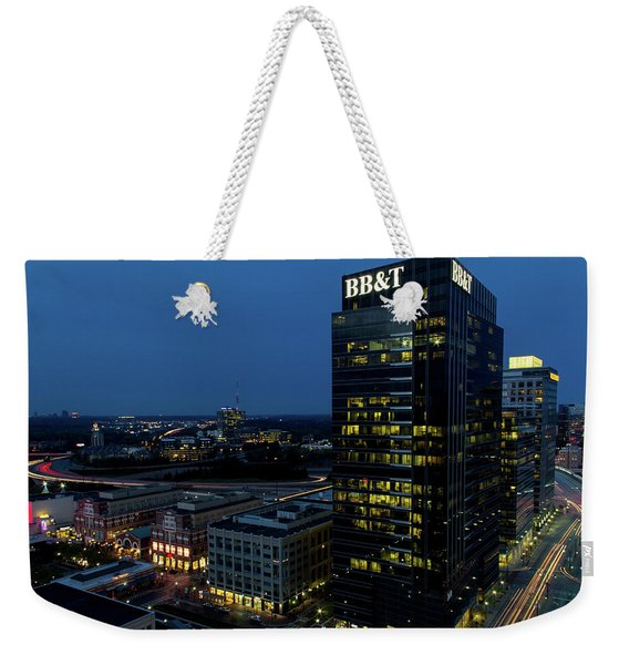 17th Street Skyline Weekender Tote Bag