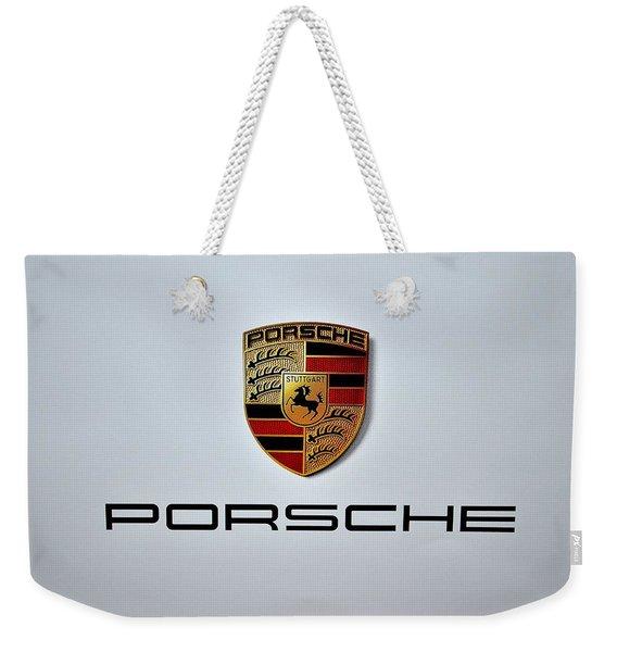 Porsche Logo Weekender Tote Bag