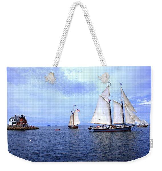 1871 Lewis R French Weekender Tote Bag