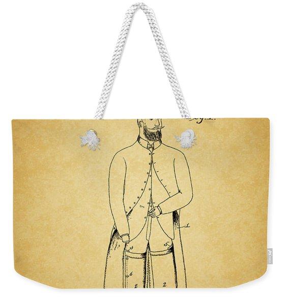 1894 Overcoat Patent Weekender Tote Bag