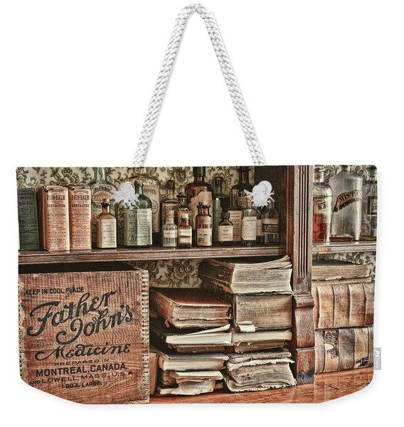 18th Century Pharmacy Weekender Tote Bag