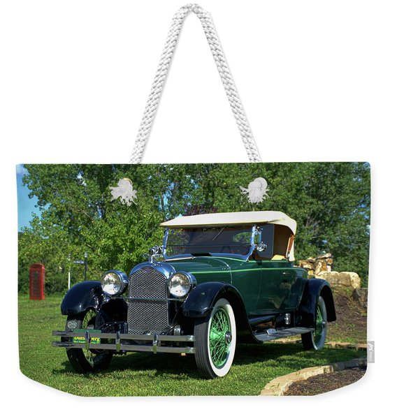 1922 Duesenberg Model A Weekender Tote Bag