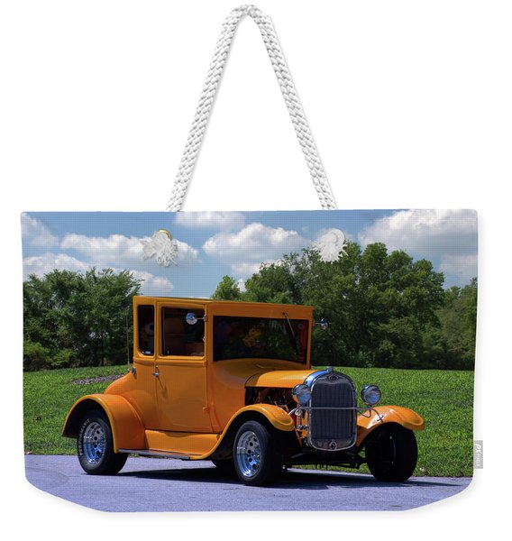 1926 Ford Hot Top T Hot Rod Weekender Tote Bag