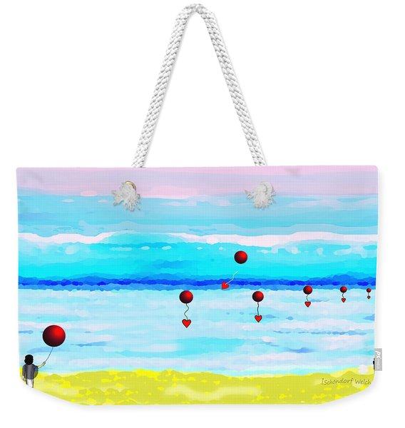 1926 -  Ocean Blue ... Weekender Tote Bag