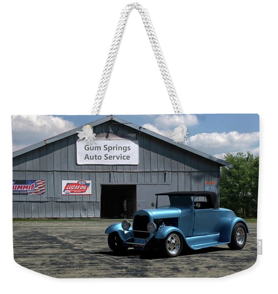 1929 Ford Roadster Weekender Tote Bag