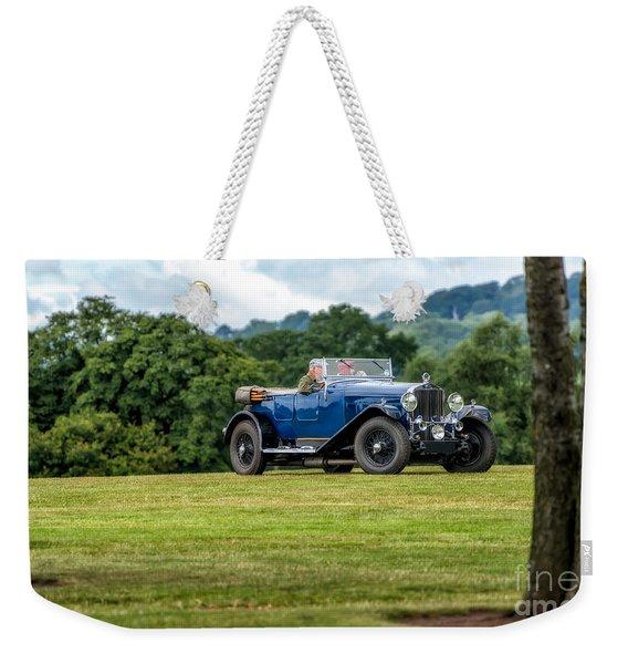 1930 Delage D8 Weekender Tote Bag