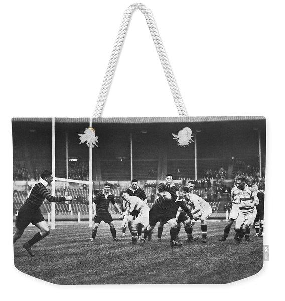 1931 Challenge Cup At Wembley Weekender Tote Bag