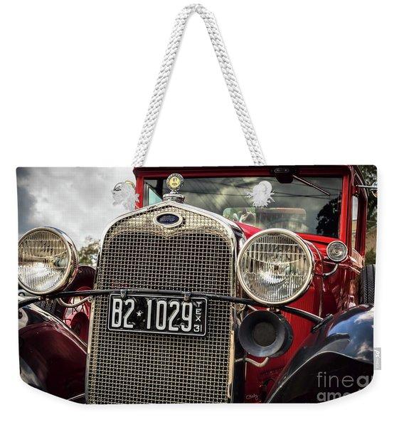 1931 Ford Pu Details Weekender Tote Bag