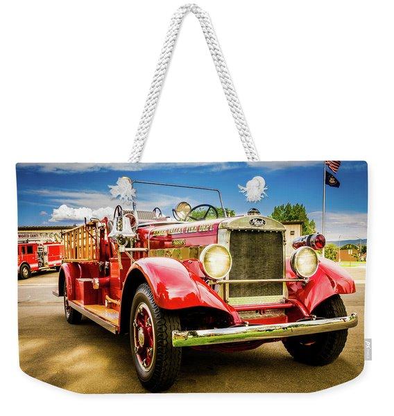 1931 Mack - Heber Valley Fire Dept. Weekender Tote Bag
