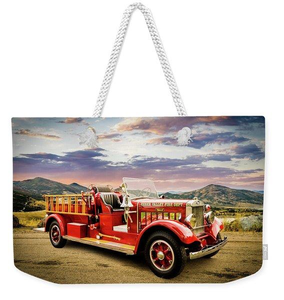 1931 Mack Ready To Roll Weekender Tote Bag