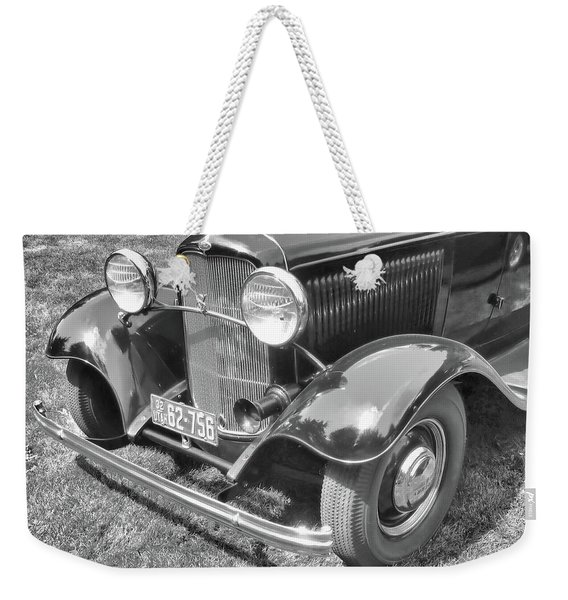 1932 Ford Coupe Bw Weekender Tote Bag