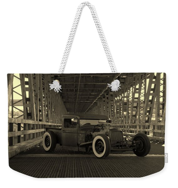 1932 Ford Pickup Rat Rod Weekender Tote Bag