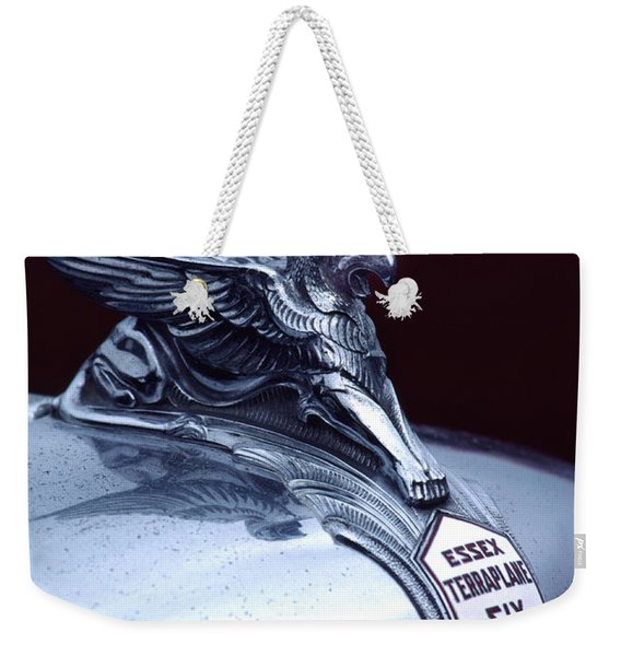 1933 Hudson Essex Terraplane Griffin Hood Ornament Weekender Tote Bag