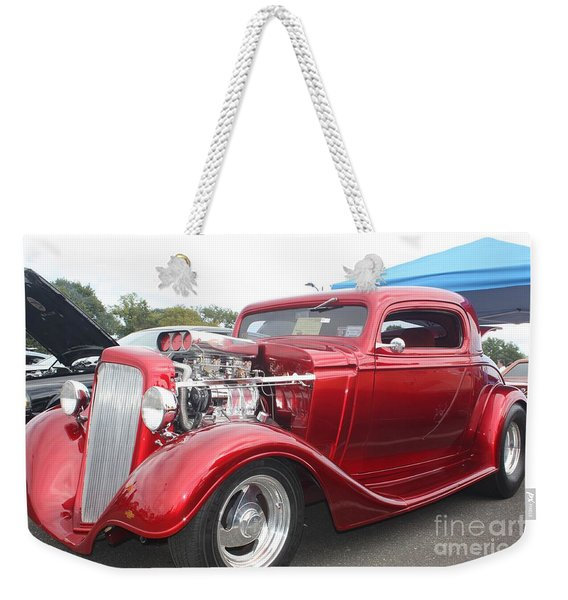 1934 Chevy Muscle Car Coupe Weekender Tote Bag