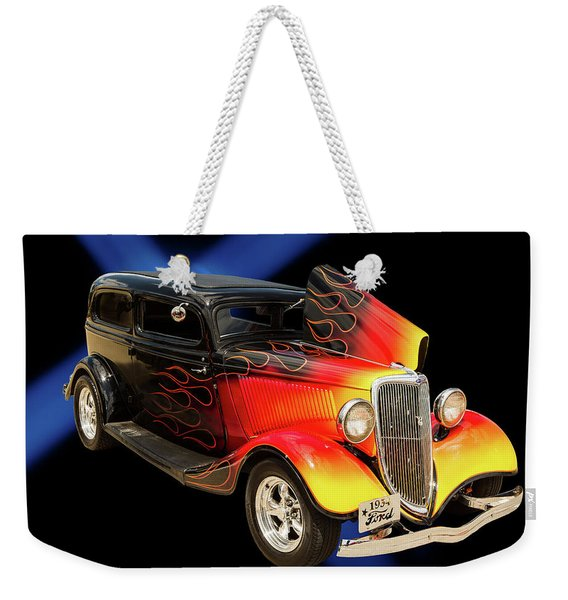 1934 Ford Street Rod Classic Car 5545.04 Weekender Tote Bag