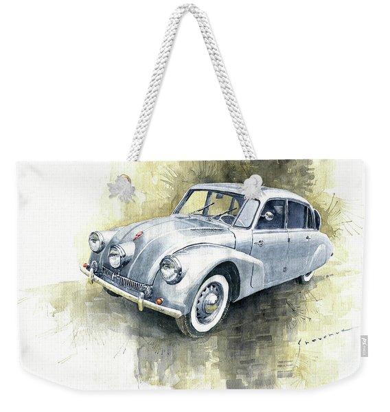 1939 Tatra T87  Weekender Tote Bag
