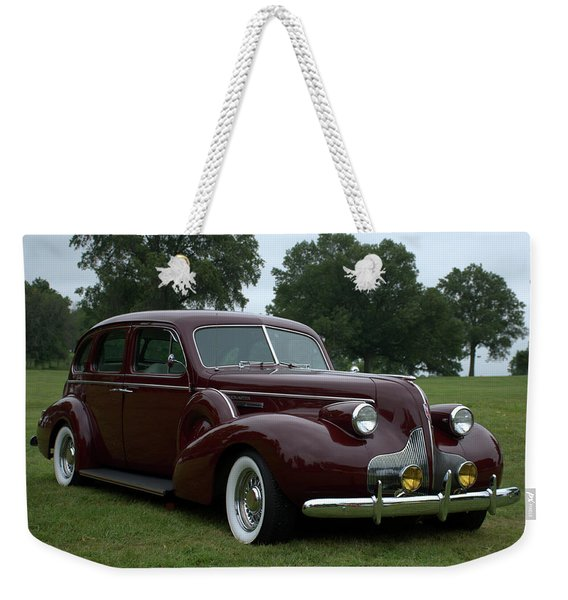 1939 Buick Roadmaster Formal Sedan Weekender Tote Bag