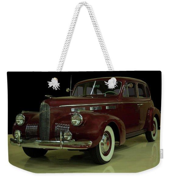 1940 Cadillac Lasalle Weekender Tote Bag