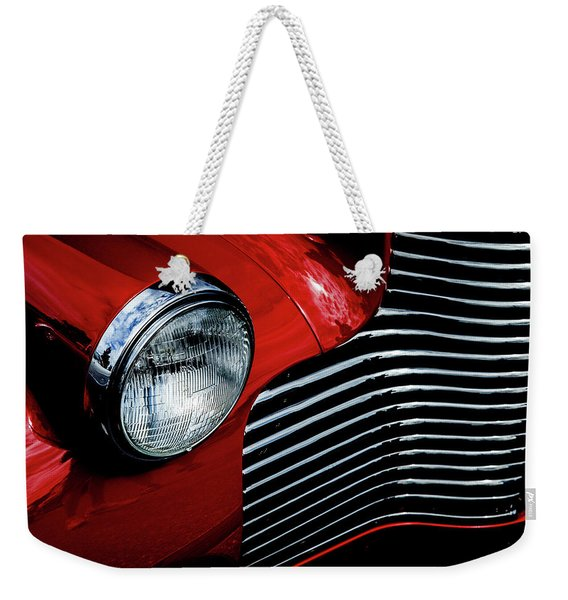 1940 Chevy 2-door Weekender Tote Bag