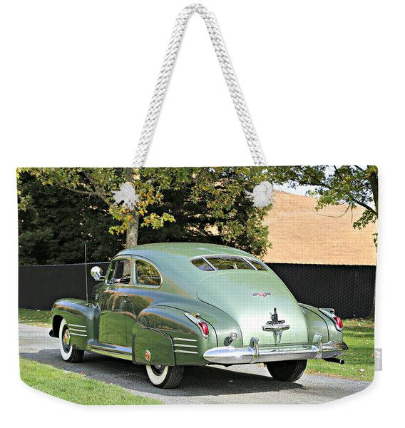 1941 Cadillac Coupe Weekender Tote Bag