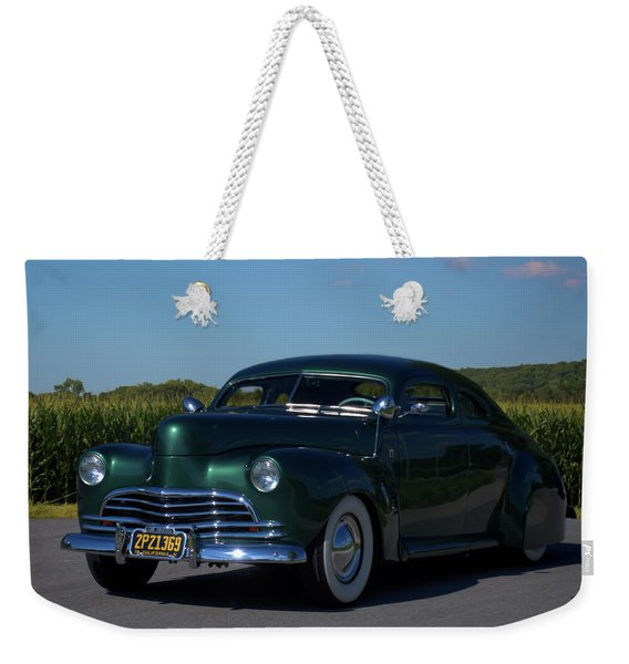 1941 Ford George Barris Custom Weekender Tote Bag
